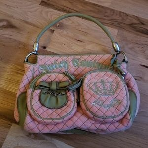 Juicy Couture Pink Quilted Purse